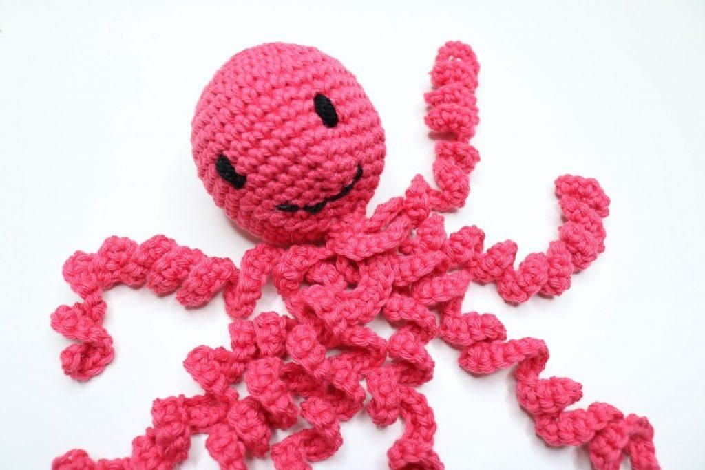Mini Crochet Octopus - Bella Coco Crochet