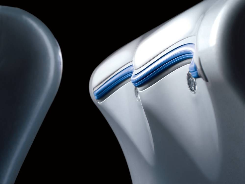 Powered by the new Dyson digital motor, the Dyson Airblade mk2 hand ...