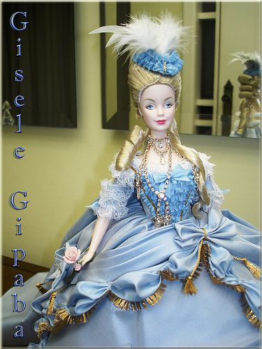 barbie marie antoinette women of royalty originally uploaded by gipaba this porcelain barbie is one of my ultimate grail dolls and i - Barbie Marie