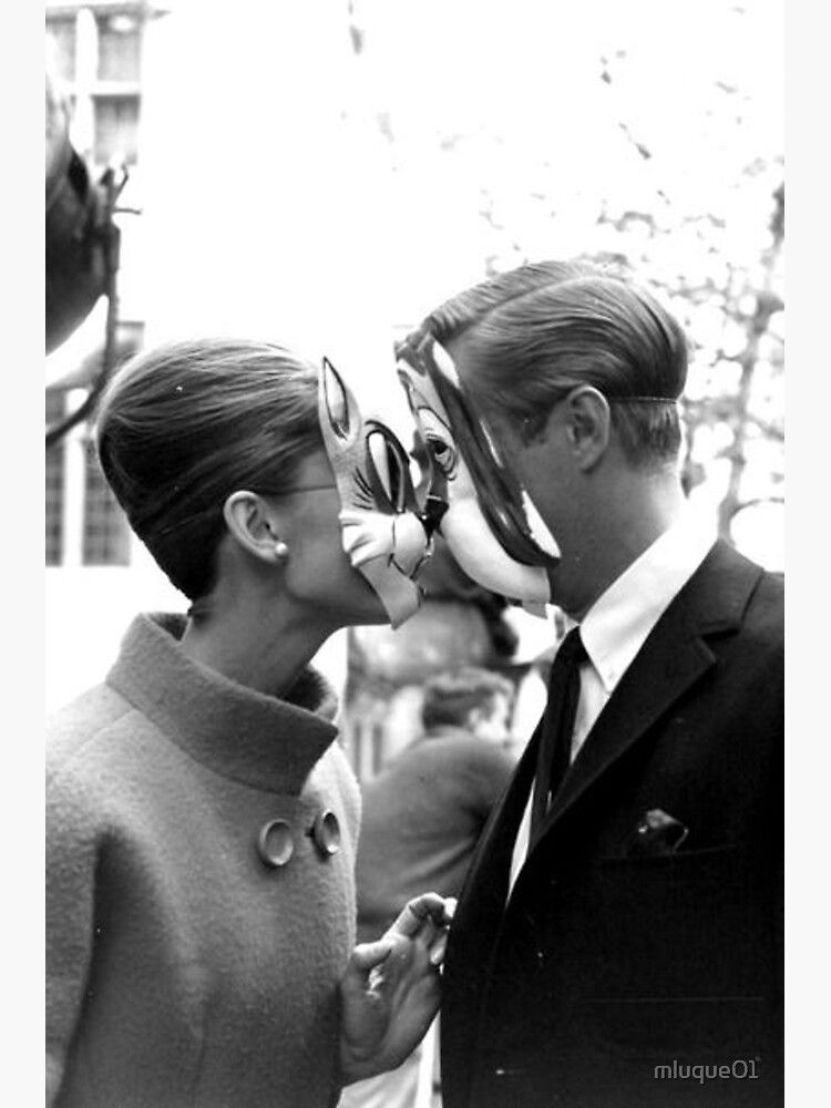 Breakfast At Tiffany S Photographic Print By Mluque01 Redbubble George Peppard Audrey Hepburn Audrey