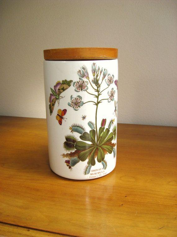 Charming Vintage Portmeirion Canister Jar Botanic By DewyMorningVintage, $50.00  #boebot #shopetsy