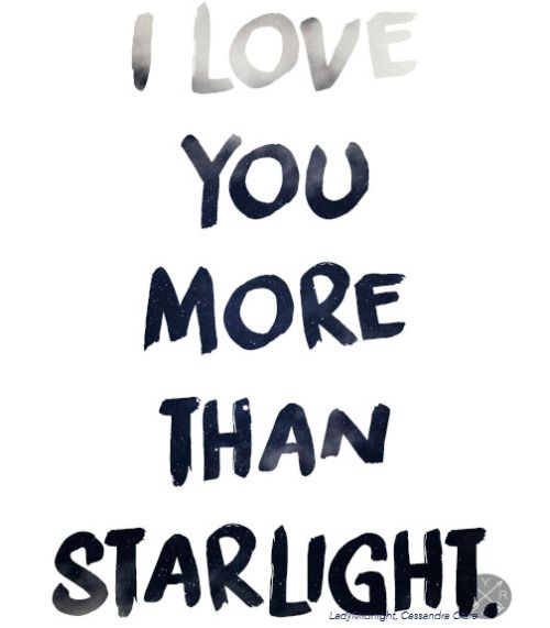 """Lady Midnight - Cassandra Clare I love her quotes about stars, they're so beautiful, """"The stars will go out before I forget you"""""""