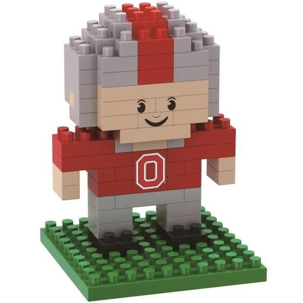 4d2dbb8ef32 Ohio State Buckeyes NCAA 3D BRXLZ Player Puzzle Set    Brxlz Cannot Be  Returned Once Opened