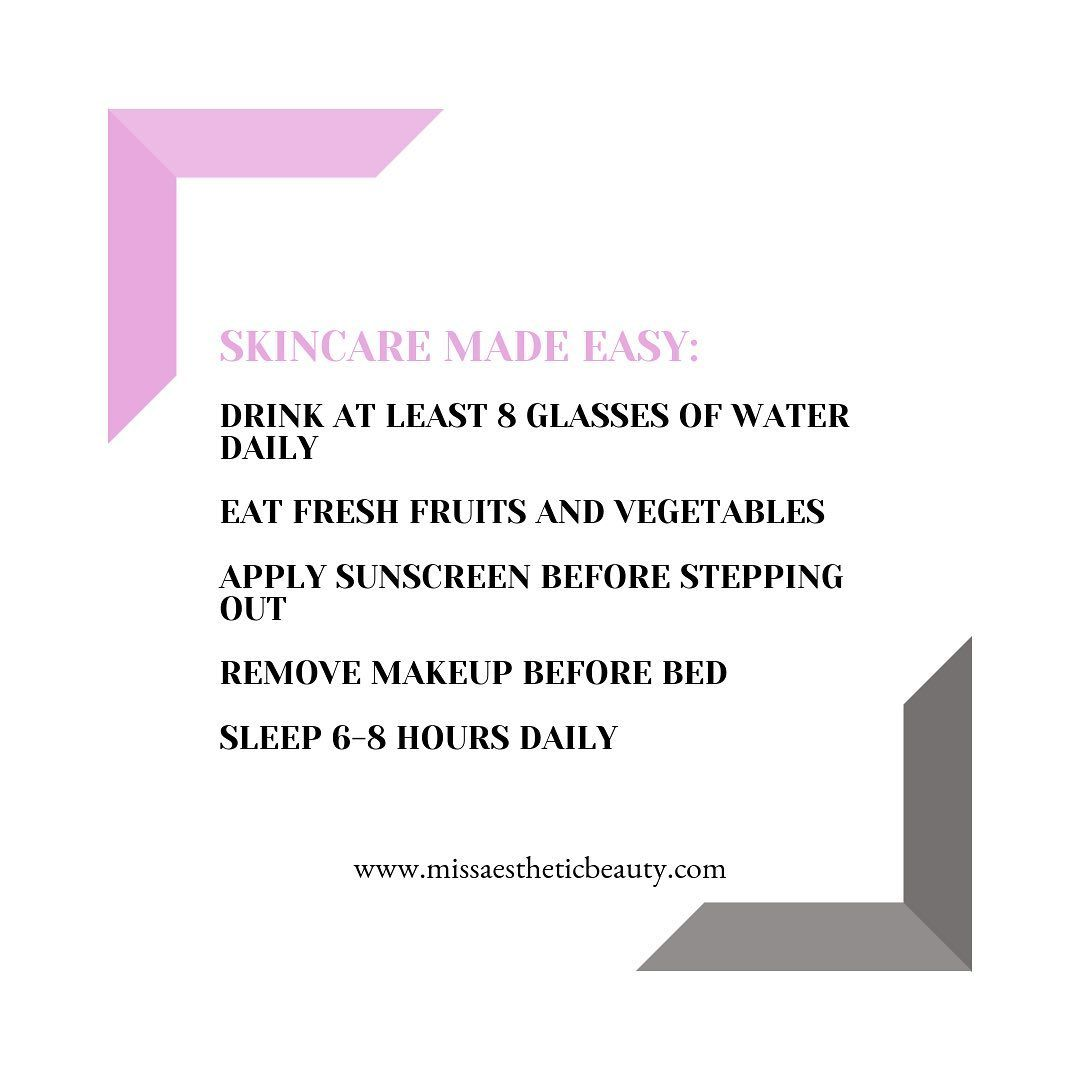 Simple rules for a beautiful life 💓 #skincare #beauty #skincareaddiction #health #fitness #vegan