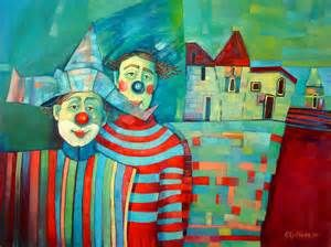 Famous Clown Oil Paintings - Bing Images