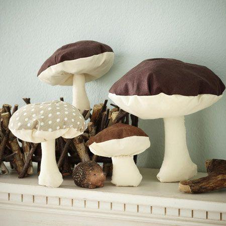 Pilze dekorieren 6 kreative ideen f r den herbst herbst autumn fall herbst herbst - Dekoration pilze ...