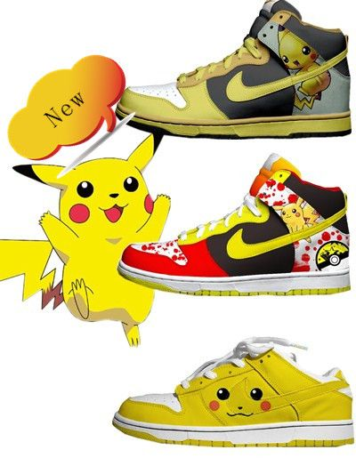 watch b5f59 a74b5 Pichu   Pikachu Nike Dunks!!