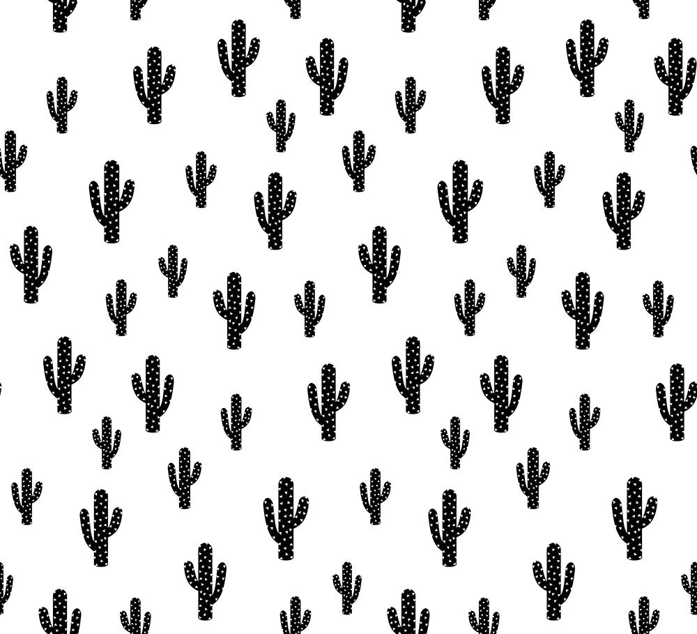Kaktusstoffe bei Spoonflower von Kimsa für Babykleidung