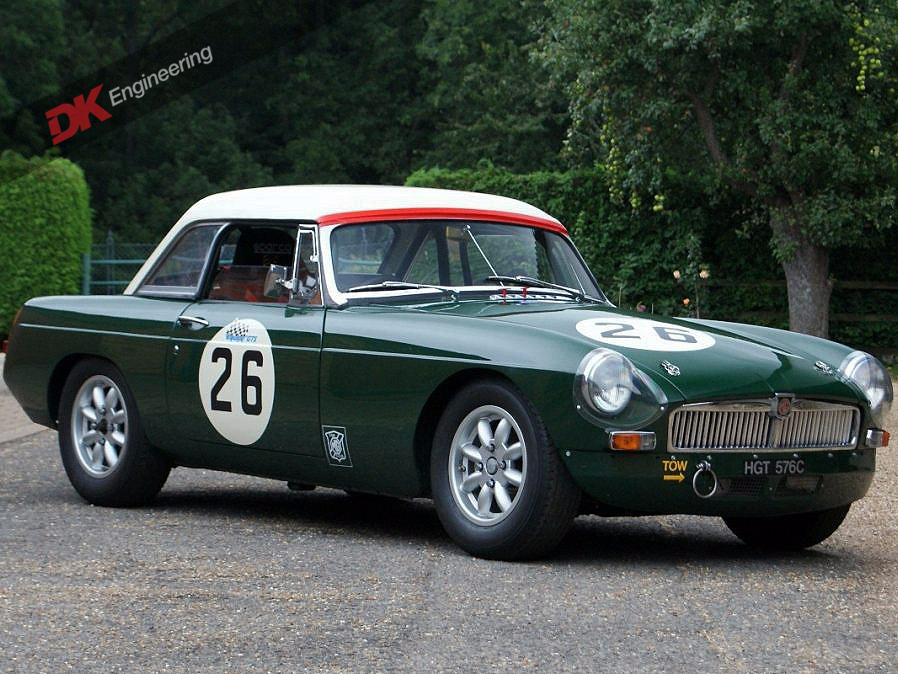 MGB FIA Roadster at DK Engineering. Period Race History | MGB/C ...
