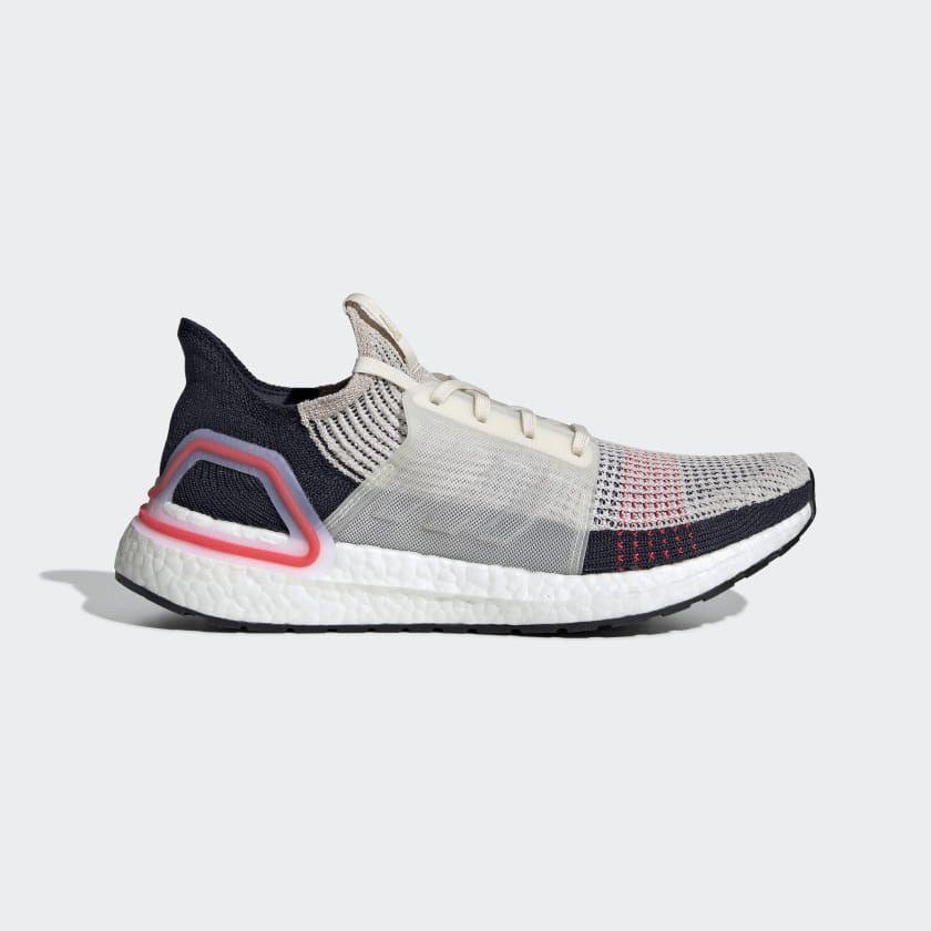 Schuh Chalk White Ultraboost Adidas Damen Laufschuhe