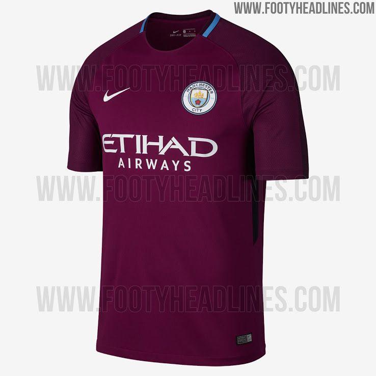 d7d588501 ... 2017 KUN AGUERO Nike Manchester City FC Stadium Away Mens Soccer Jersey  Size Large (Purple) ...