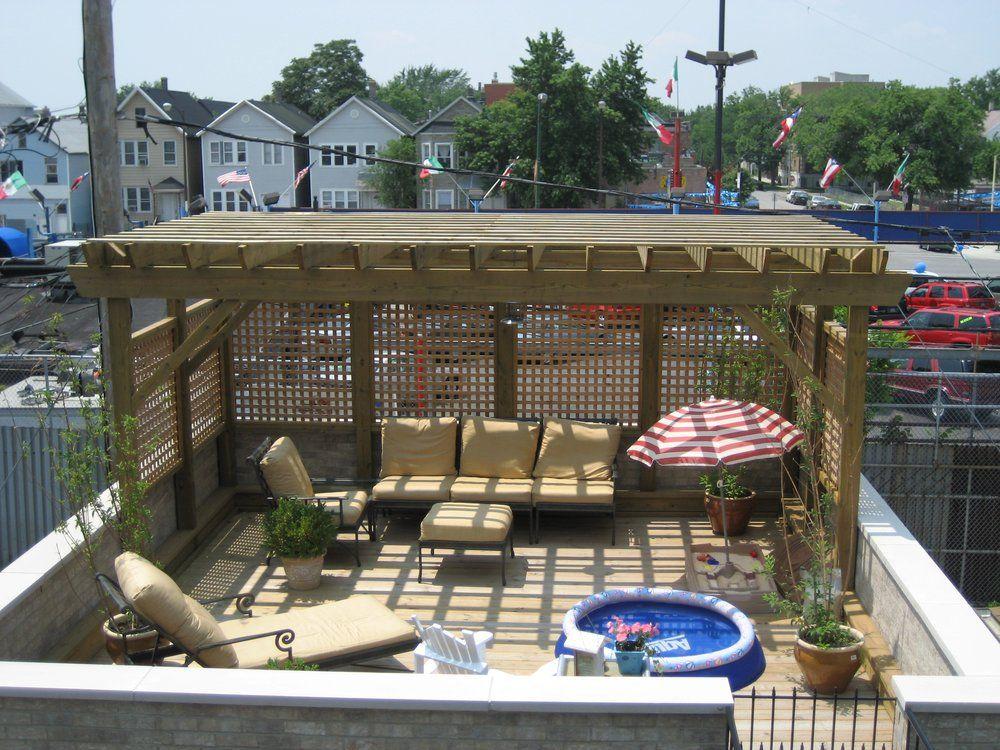 Best 4Th Generation Construction Inc Garage Top Deck W Arbor 400 x 300