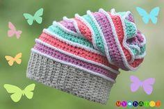 Mit Dieser Mütze Kannst Du Dir Eine Fröhlich Bunte Mütze Häkeln Das