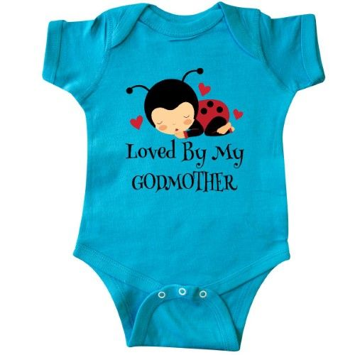 inktastic I Wear Teal Pink and Blue for My Godfather Baby T-Shirt