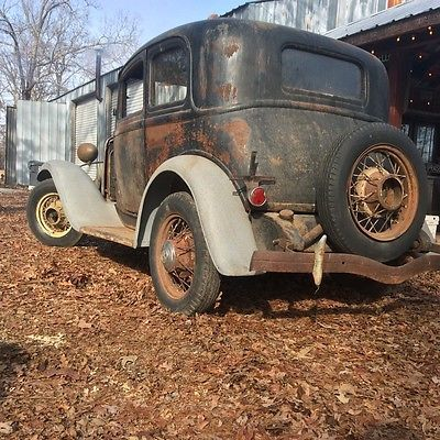 EBay 1932 Ford Other Deluxe Victoria Barn Find Early Production Hot Rod Vintage