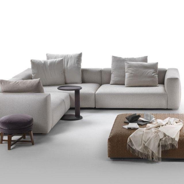 Novo sofá da Flexform. www.casamix.net