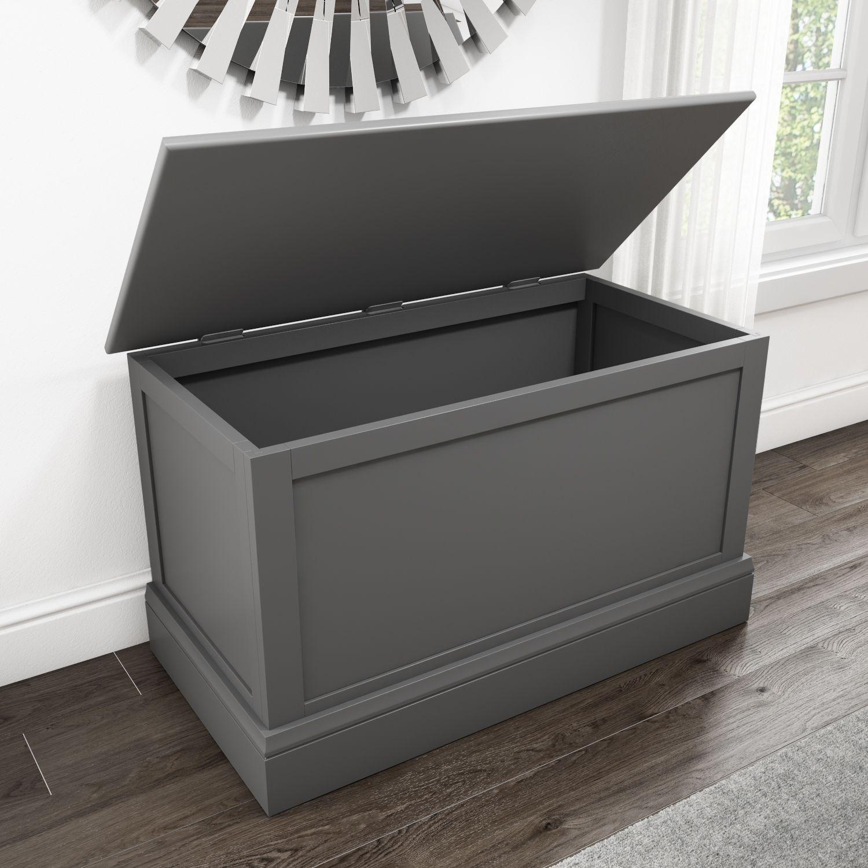 Sale Harper Grey Solid Wood Storage Blanket Box Hrp011g Dizajn Doma Dizajn Dom