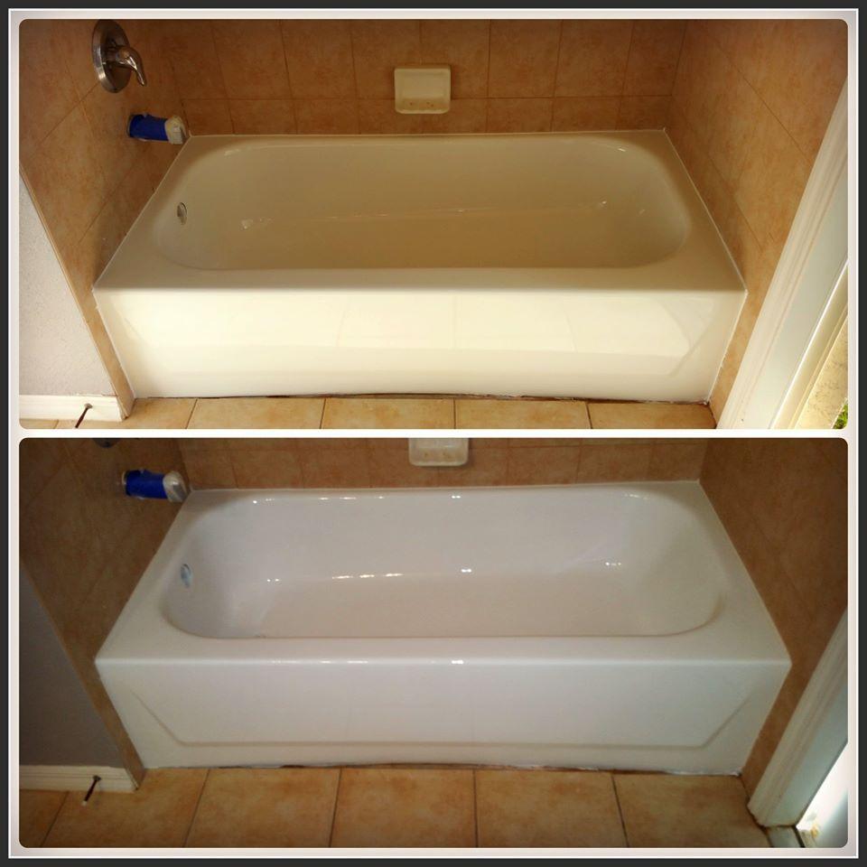Bathtub Refinishing Services For The Bathroom Tub Refinishing