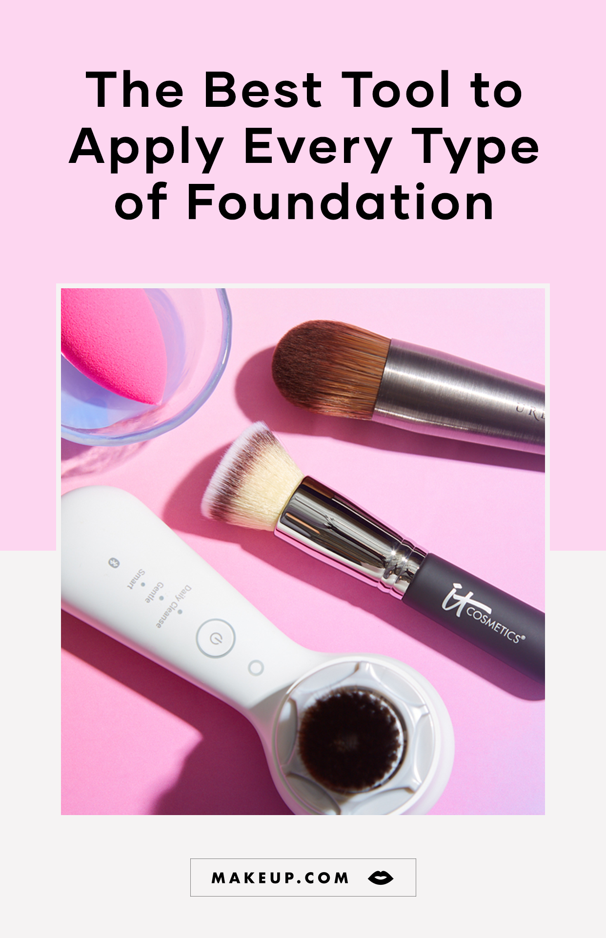 The Best Tool for Applying Different Types of Foundation