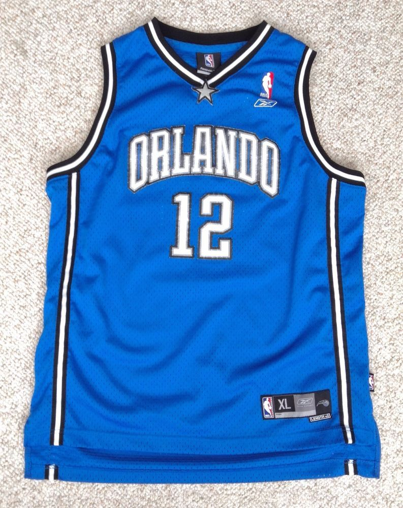Youth XL 1820 can fit smadult ORLANDO MAGIC DWIGHT