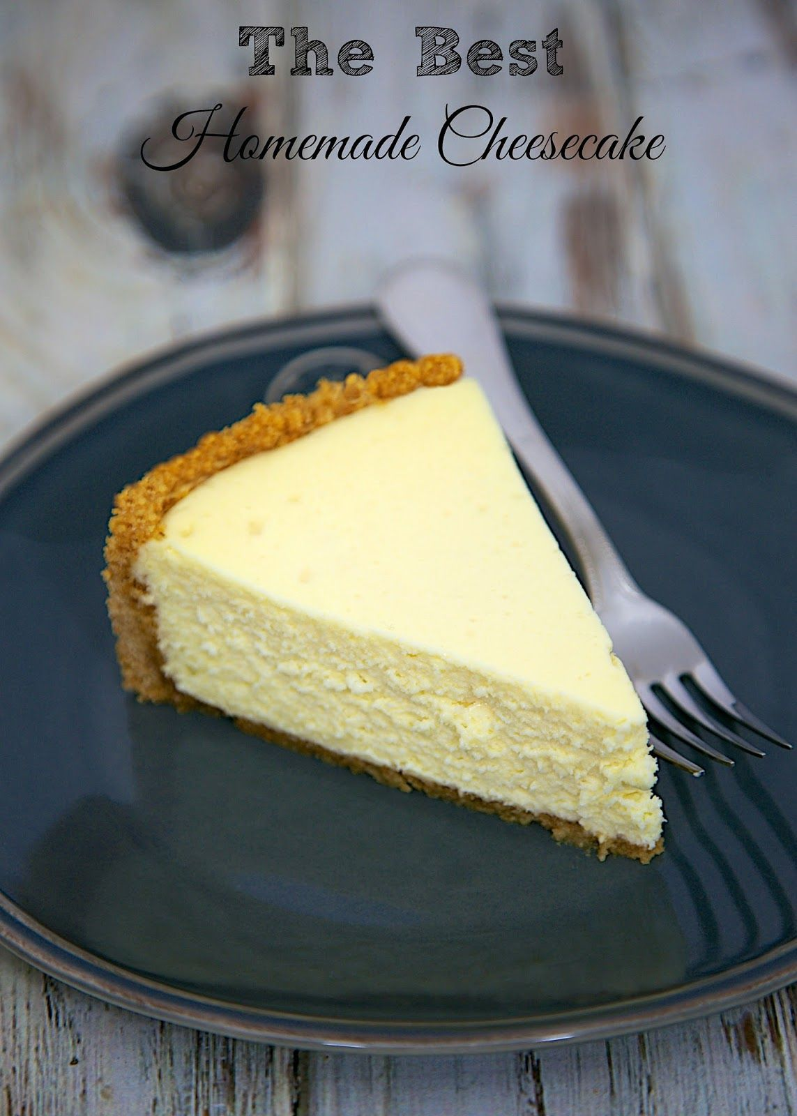 Check Out The Best Homemade Cheesecake It S So Easy To Make Homemade Cheesecake Fluffy Cheesecake And Cheesecakes