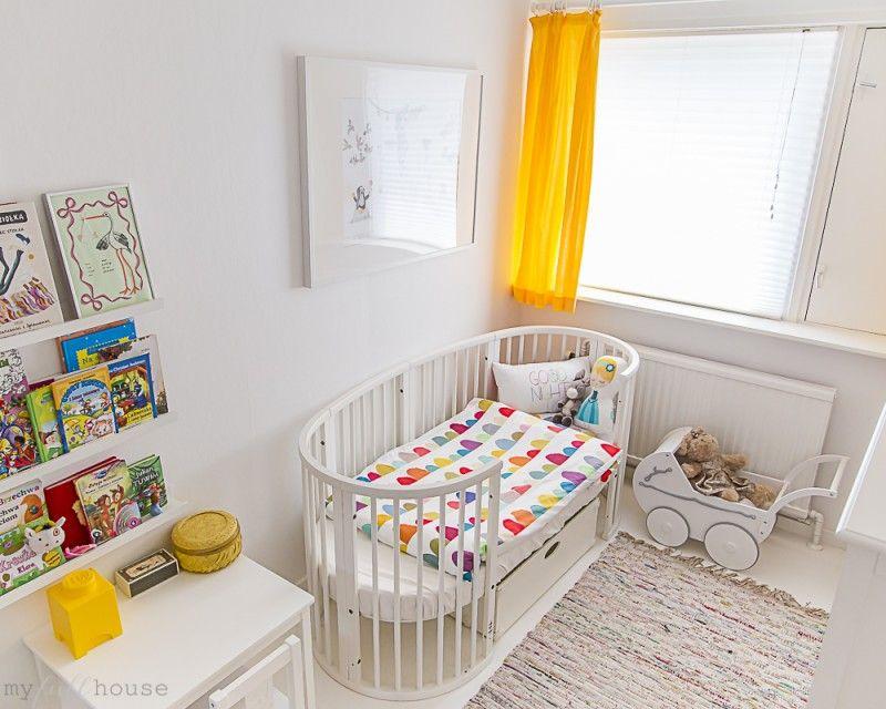 Stokke Sleepi Convertible Crib in White via My Full House Blog ...