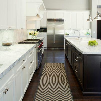 Transitional Single Story White Kitchen Design White Kitchen