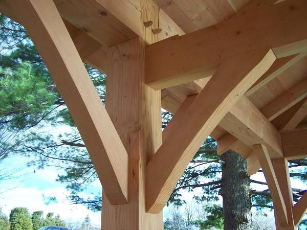 Traditional Timber Frame Joints House Design Beautiful