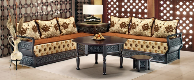 salon marocain confortable style moderne salon marocain. Black Bedroom Furniture Sets. Home Design Ideas