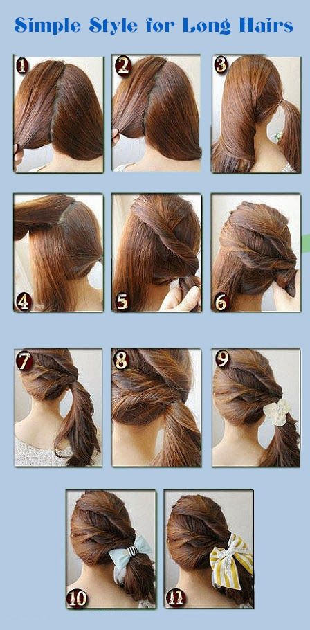 Simple Style For Long Hairs Get 100 Worth Of Beauty Samples Long Hair Styles Hair Styles Hair