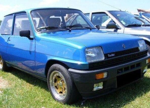 Renault 5 Alpine Blu Carros Carros Antigos