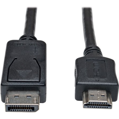 Tripp Lite P582 010 Displayport To Hd Adapter Cable 10 Computer Accessories Hdmi Cables Cable