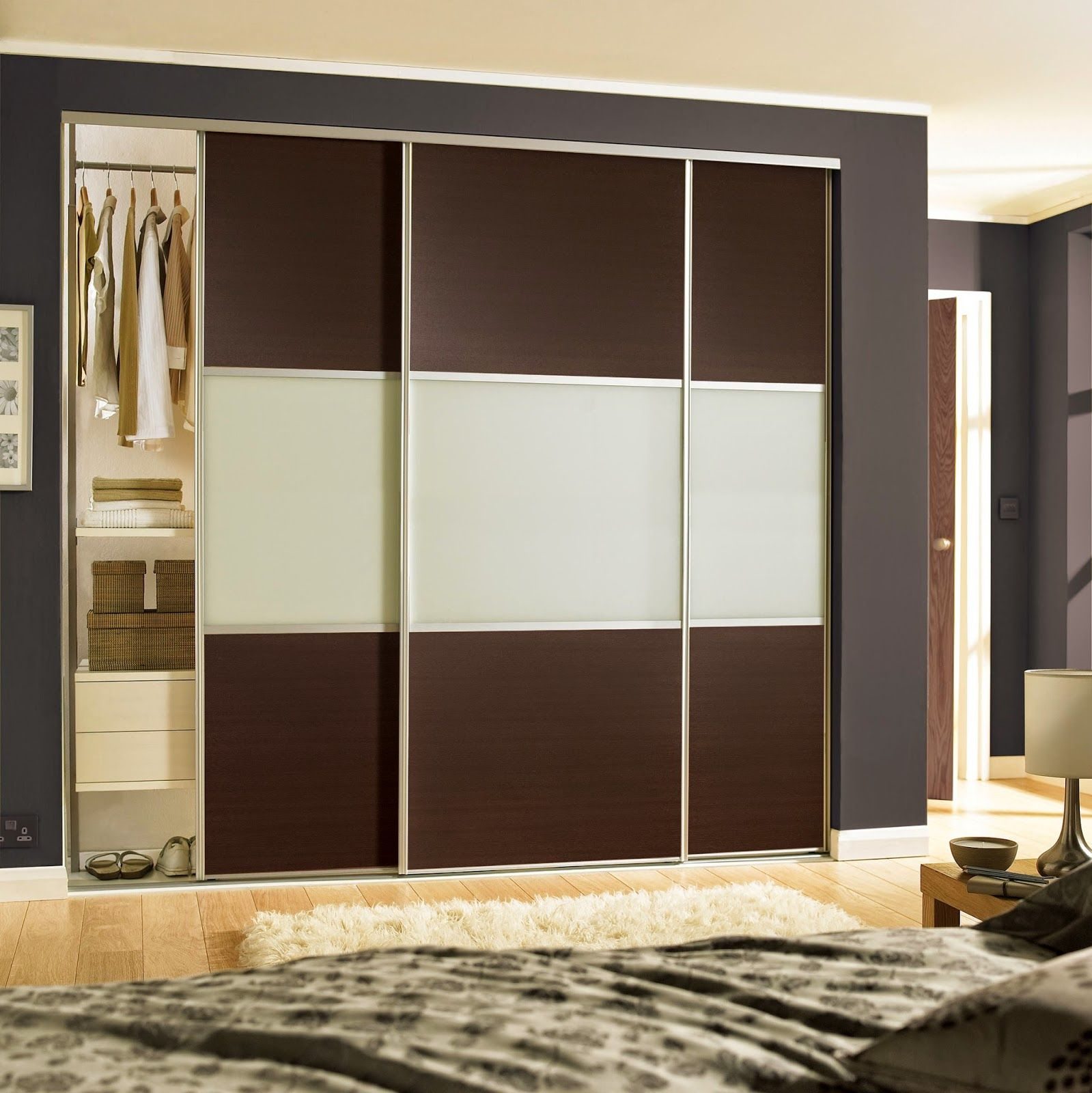 Cool Built In Sliding Fitted Wardrobes White Grey Doors With Storage For Bedroom Sliding Wardrobe Sliding Wardrobe Doors Wardrobe Doors
