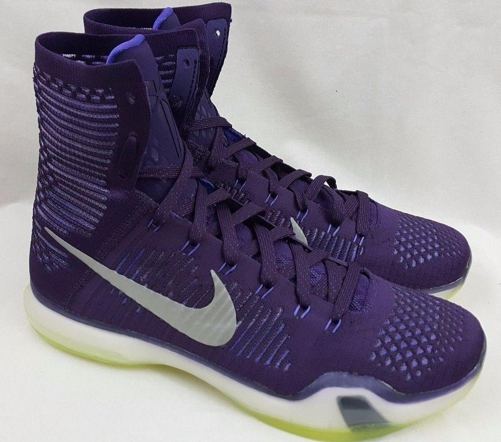 a7add4aac1ee ... ireland nike kobe 10 x elite grand purple team basketball shoes 718763  505 mens size 12 ...
