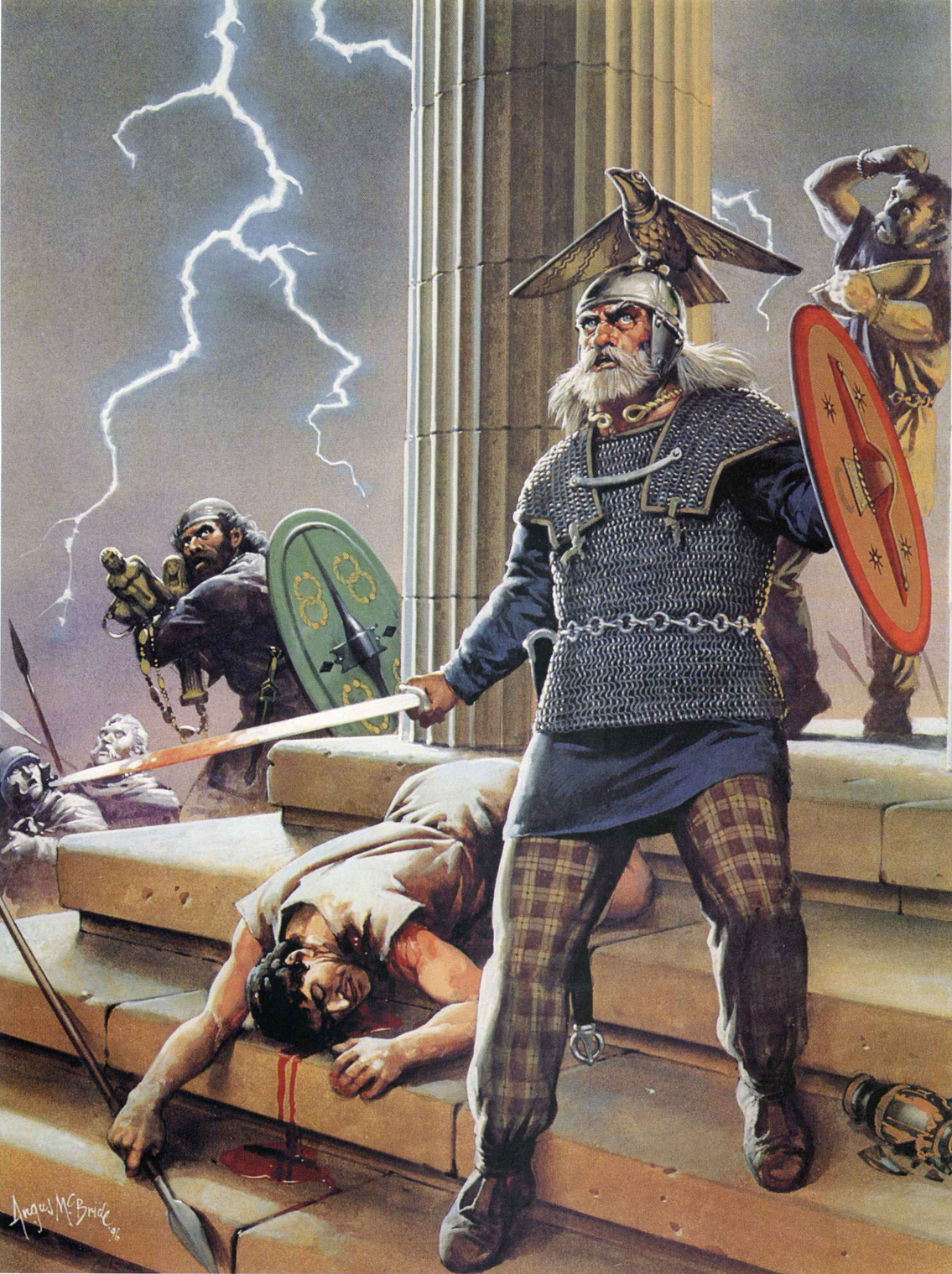 Celts attack Delphi.279 BC   Ancient celts, Celtic ...