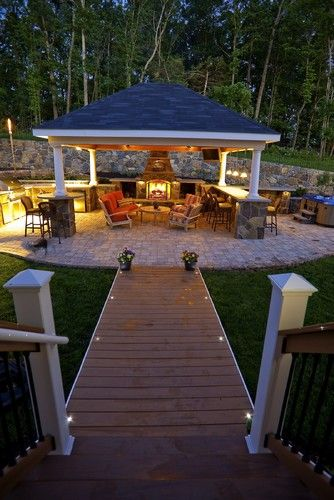 Patio Kitchen For The Whole Family Wish I Had The Backyard For