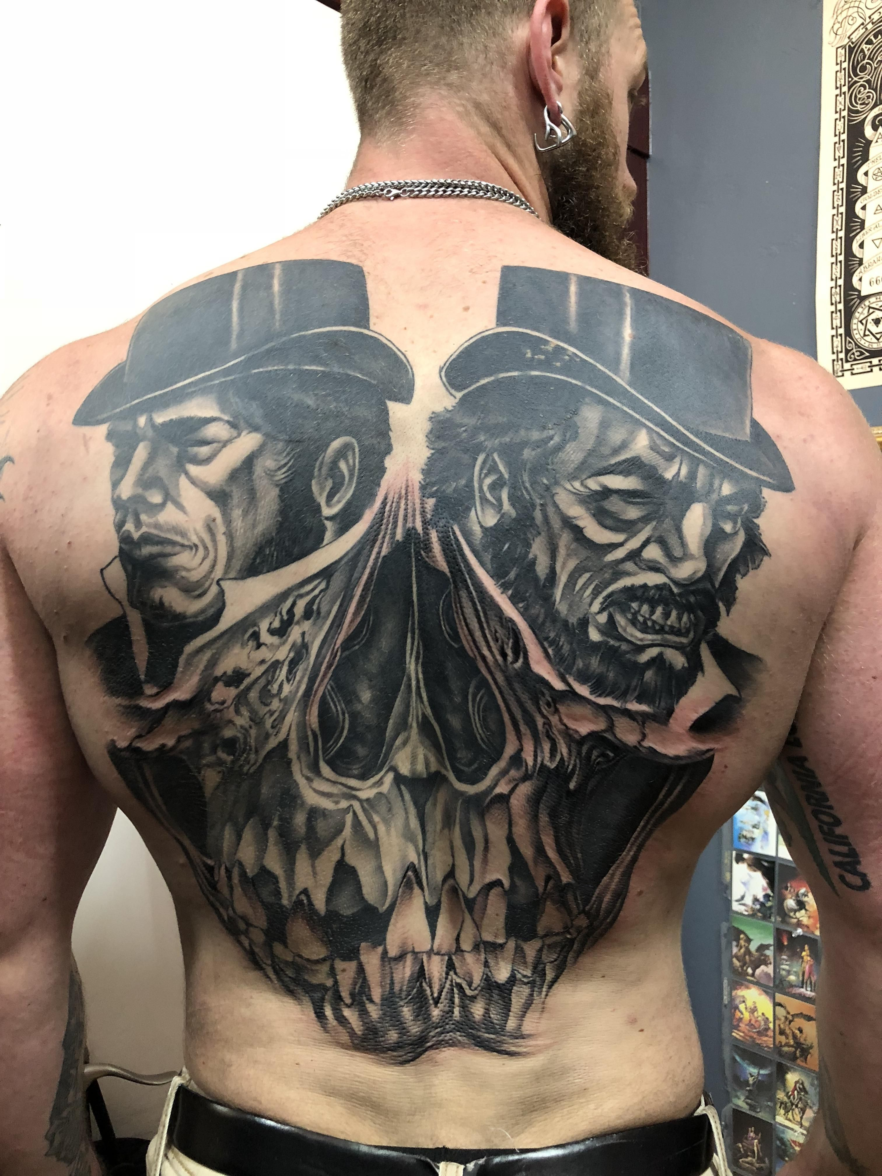 Dr jekyll and mr hyde tattoos