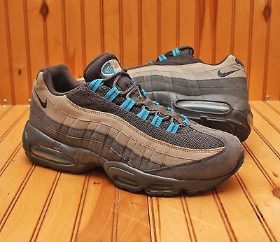 2011 Nike Air MAX 95 Size 10.5 - Anthracite Grey Neutral Blue - 609048 052