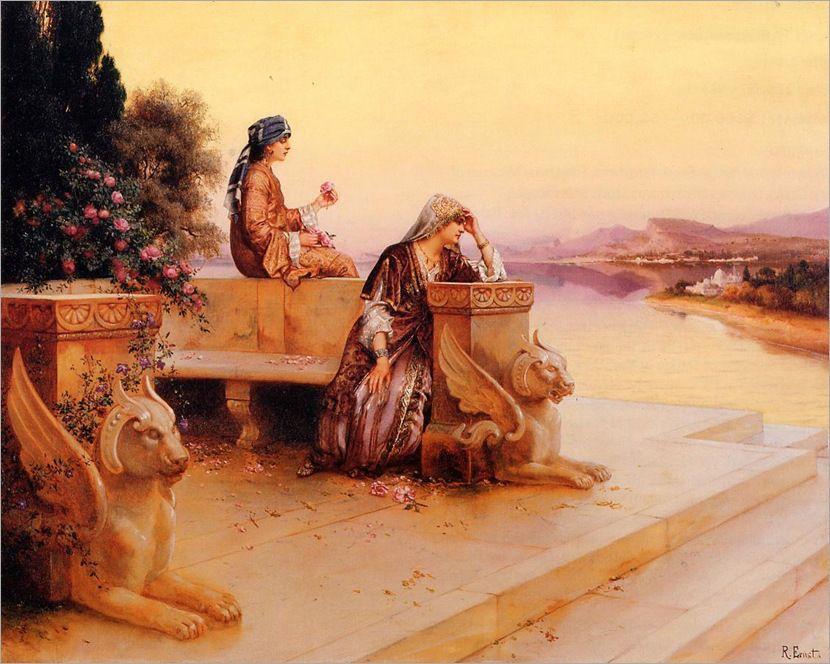 Tema Da Pintura Cenas Orientais Artes Pinturas Arte E Sobre