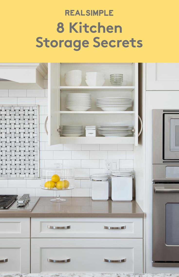 Top Organizers Share Their 8 Best Kitchen Storage Secrets