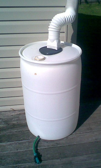 make a rain barrel | when you design a rain water barrel you want it to be as large as your ...