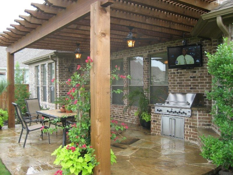 Arbors-Pergolas-Patios - Roofing & Remodeling of Dallas - Arbors-Pergolas-Patios - Roofing & Remodeling Of Dallas Back Yard