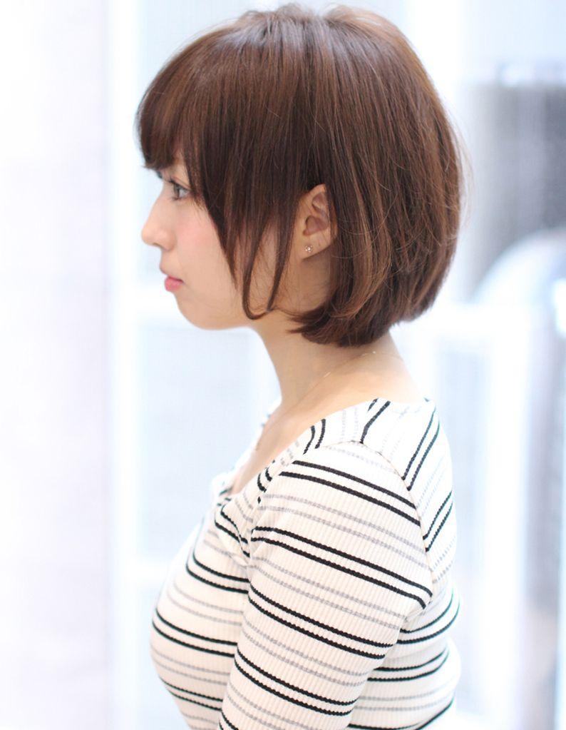 好感度小顔になるミセスショート So 199 ヘアカタログ 髪型 ヘア