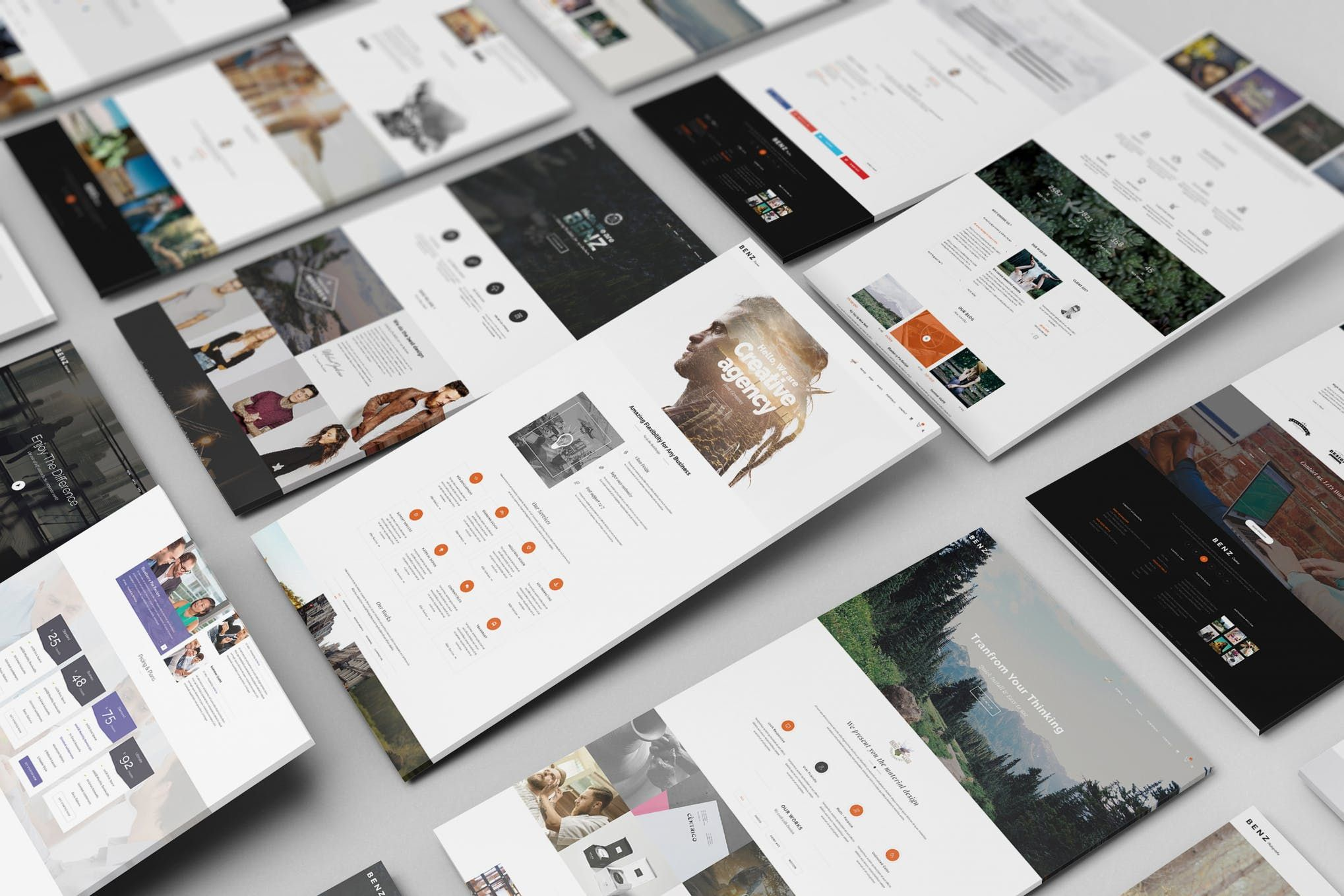 Perspective Web Mockup 08 By Wutip On Envato Elements Website Mockup Perspective Web Web Mockup