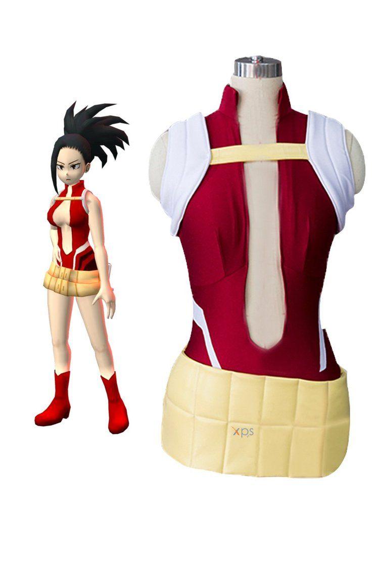 Boku no My Hero Academia Cosplay Costume YAOYOROZU MOMO Uniform Suit Outfit