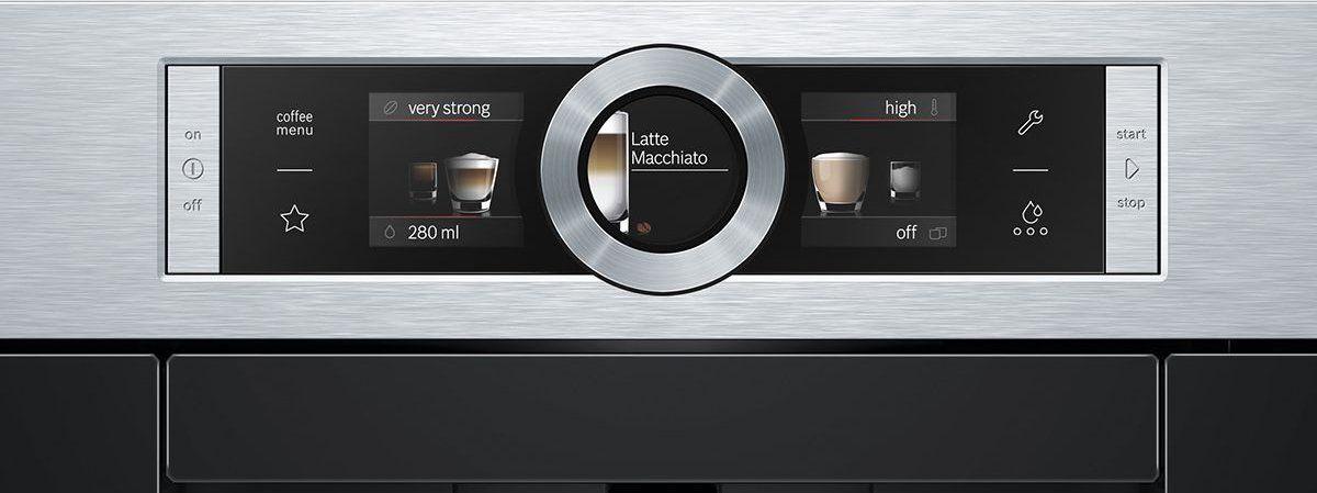 Bosch ctl636es1 serie 8 builtin coffee machine coffee