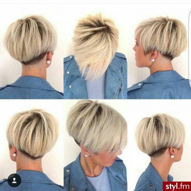 asymmetrisk kort hår