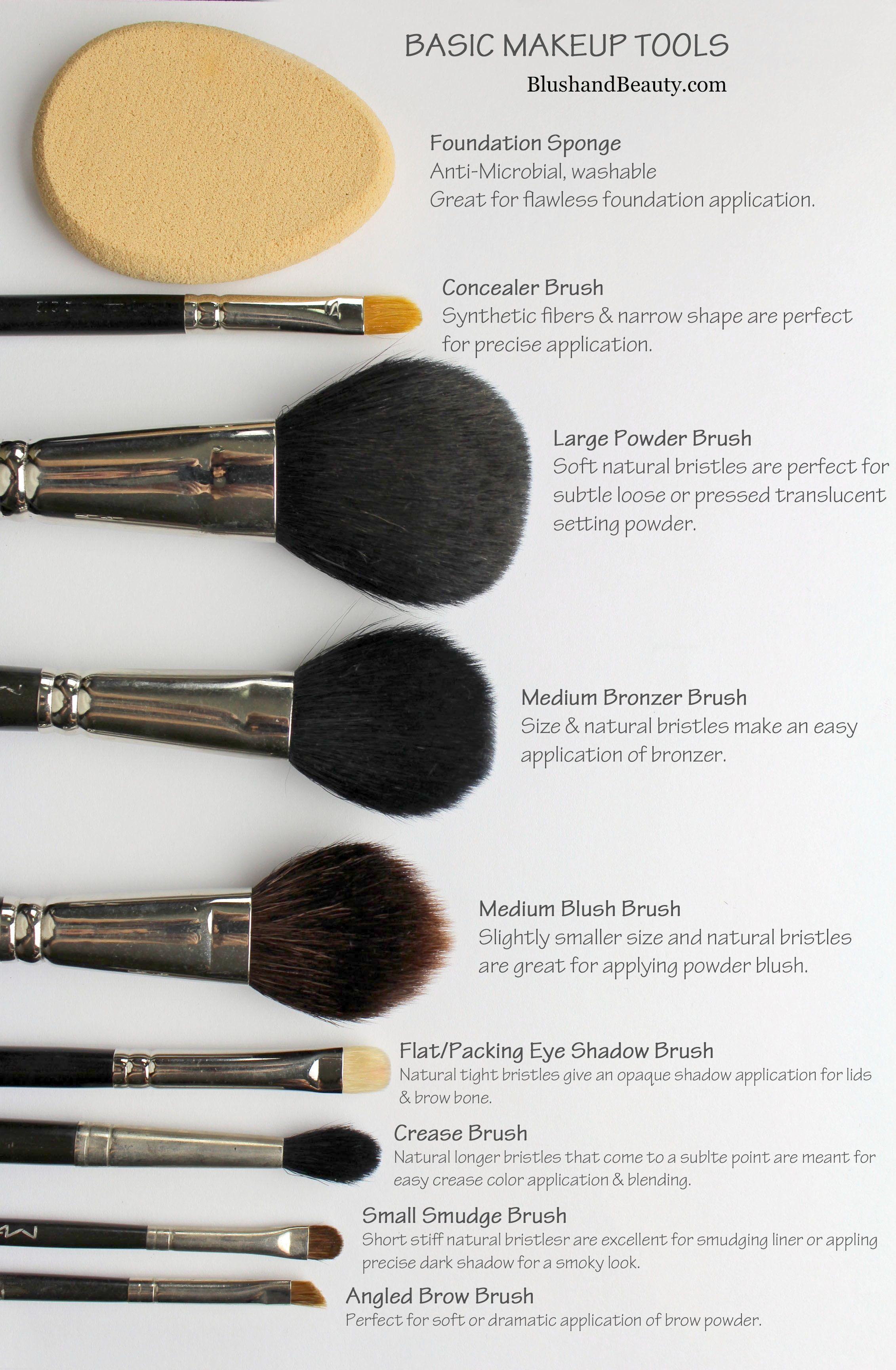 Cool Mac Makeup Brush Must Haves Makeup Brushes Guide Basic