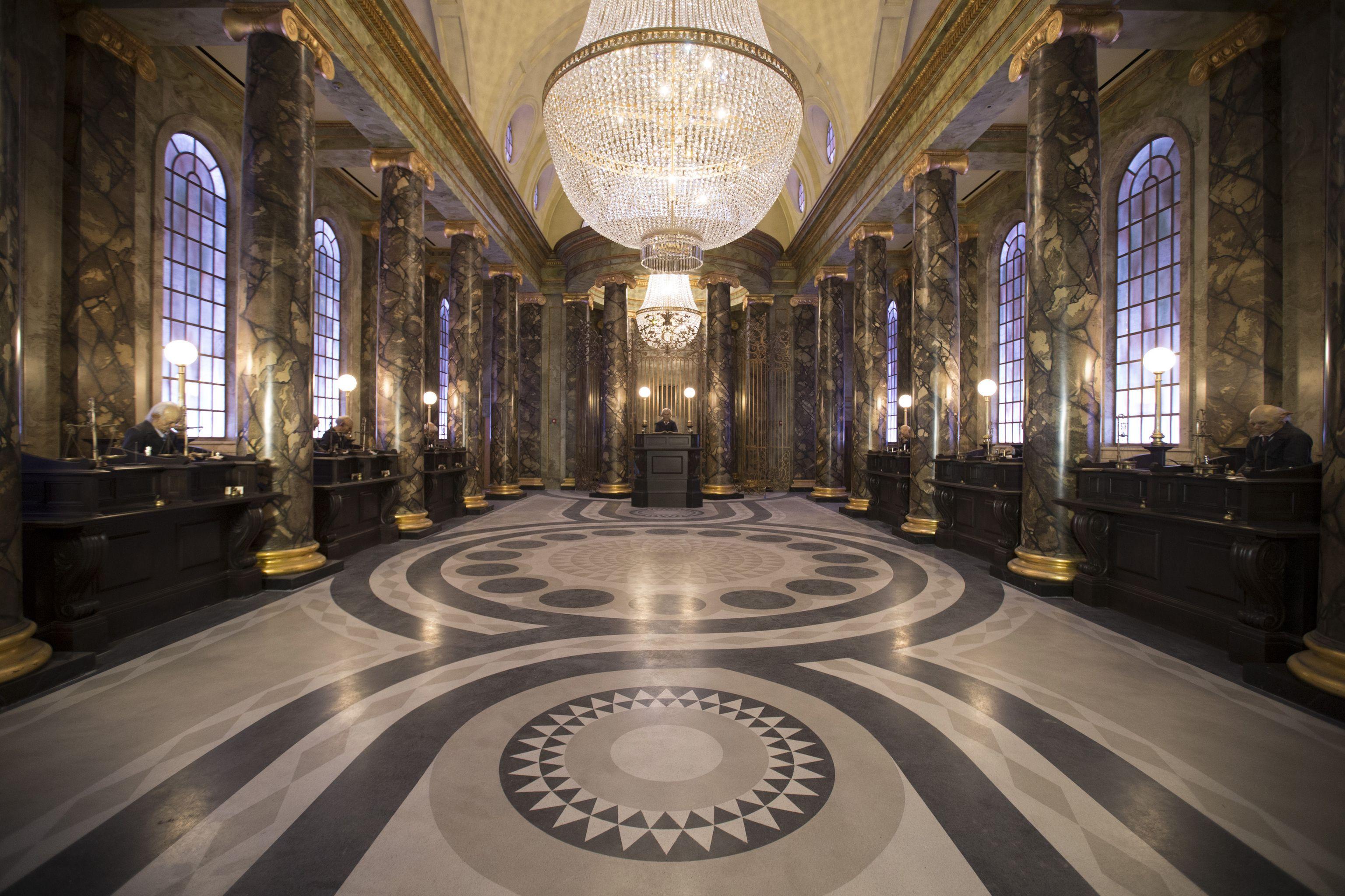 Bank Interior Universal Studios Florida Universal Harry Potter Orlando Harry Potter Theme Park