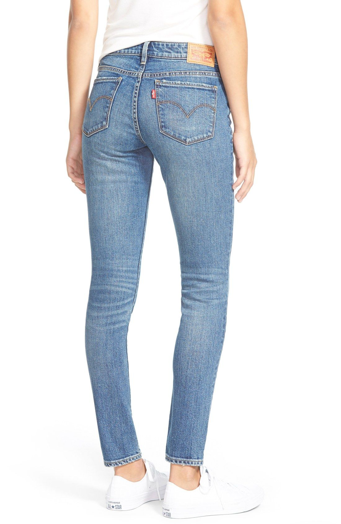 New Products Levi'S 711 High Rise Skinny Jeans Womens Rugged Indigo Online Shopping